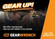 GEAR UP with GEARWRENCH
