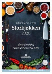 Storkjøkken 2020