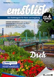 Emsblick Haren Heft 57 (Juli/August 2020)