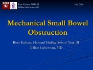 Small Bowel Obstruction - Lieberman's eRadiology Learning Sites
