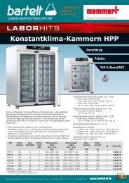 Memmert Konstantklima-Kammer HPP