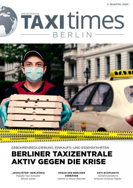 Taxi Times Berlin - 2. Quartal 2020