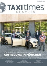 Taxi Times München - 2. Quartal 2020