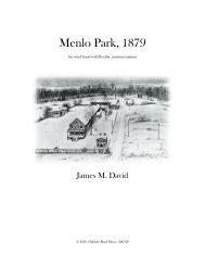Menlo Park, 1879 - Score