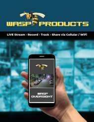 WASP Master Product Catalog August 2020