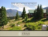 Nye Mountain Retreat Offering Brochure