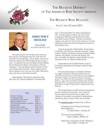 Summer 2012 - Buckeye District