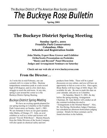 Buckeye District Spring Meeting