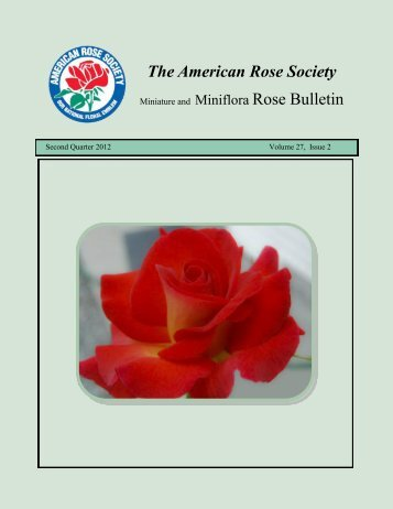 The American Rose Society - Paul Zimmerman Roses