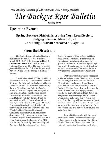 Spring 04 - Buckeye District