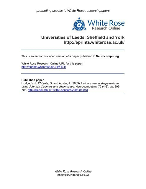 White rose research papers search engines for research papers