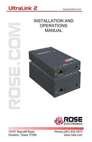 UltraLink 2h-5x8 - Rose Electronics