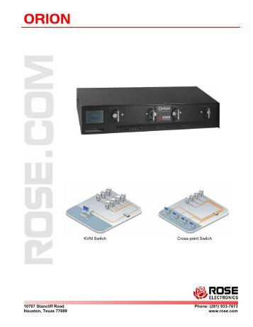 Orion - Rose Electronics
