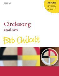 Bob Chilcott - Circlesong