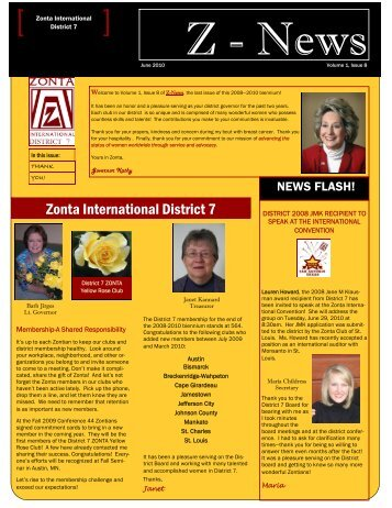 Zonta Newsletter June 2010.pub - Zontadistrict7.org
