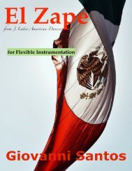 El Zape (Durango, Mexico) Flex Full Score