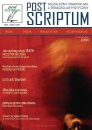 POST SCRIPTUM 1-2020