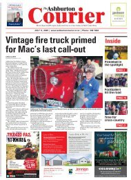 Ashburton Courier: July 09, 2020
