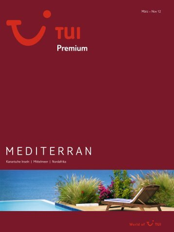 TUI PremiumMediterran So12