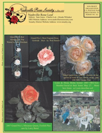July - Nashville Rose Society