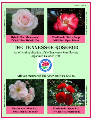 Fall 2009 Newsletter.pub - Tennessee Rose Society