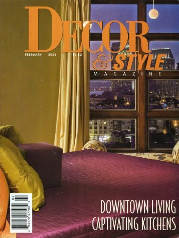 Click here to download our article in Decor - Alex Rose Design