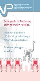VIP Patientenflyer Grinder & Sofi