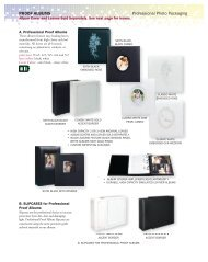 Professional Photo Packaging PROOF ALBUMS Album Cover And