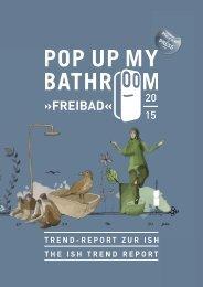 Freibad - Trendbuch Pop up my  my Bathroom | Ausgabe 01/ 2015 ISH 2015