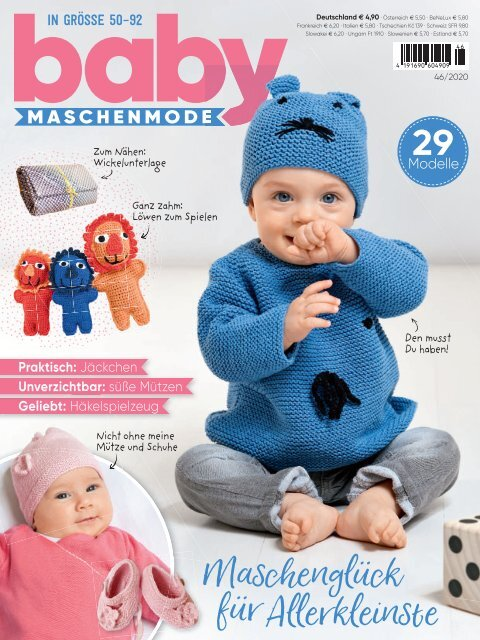Baby Maschenmode Nr. 46