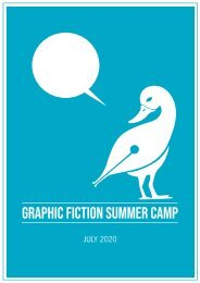 Graphic Fiction Summer Camp 2020