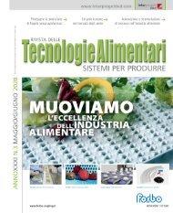 Tecnologie Alimentari N° 3 Maggio/Giugno 2020