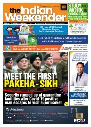 The Indian Weekender, Friday 10 July, 2020
