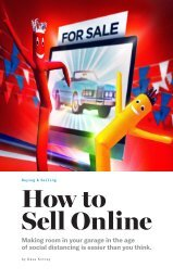 Selling your classic car online