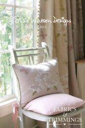 Fabrics & Trimmings 2012 - Susie Watson Designs