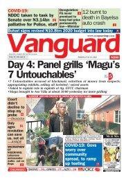 10072020 - Day 4: Panel grills 'Magu's 7 Untouchables'