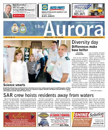 Apr 9 2012 - The Aurora Newspaper