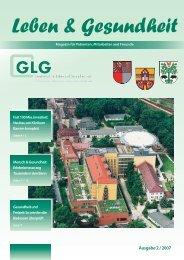 Leben & Gesundheit - GLG Gesellschaft für Leben und Gesundheit ...