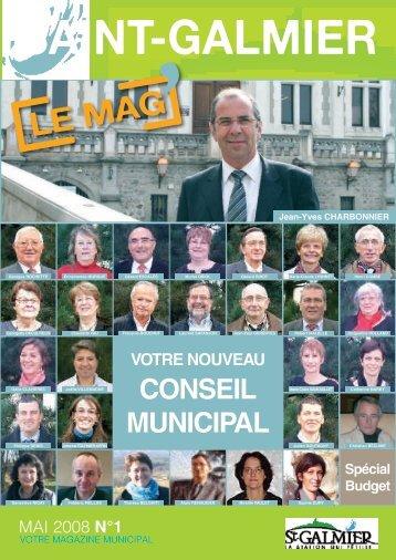 Le Mag N°1 - Mai 2008 - Mairie de Saint-Galmier
