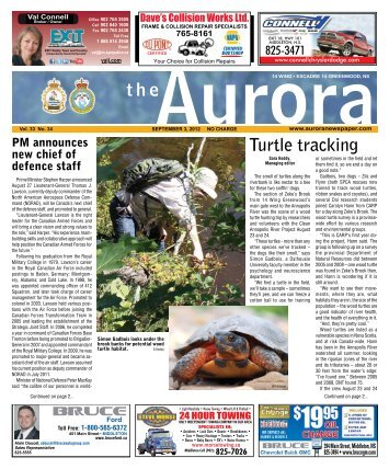 Sept 3 2012 - The Aurora Newspaper