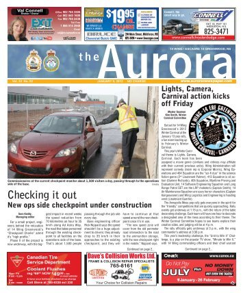 Jan 9 2012 - The Aurora Newspaper