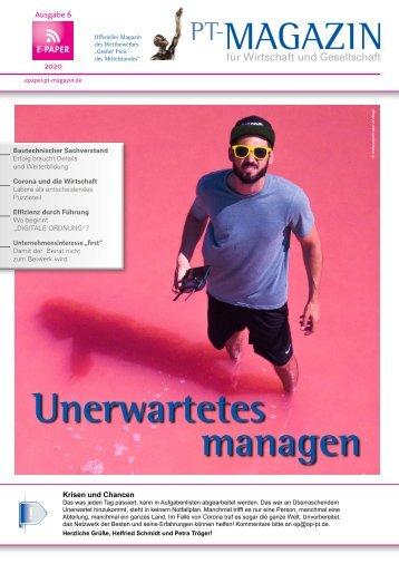 E-Paper PT-Magazin 06 2020 Unerwartetes managen