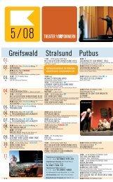 Greifswald Stralsund Putbus - Theater Vorpommern