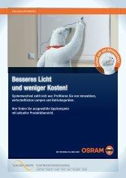 Besseres Licht und weniger Kosten! - ETL Schlegel Gruppe