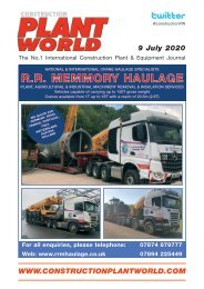 Construction Plant World - 9th July 2020