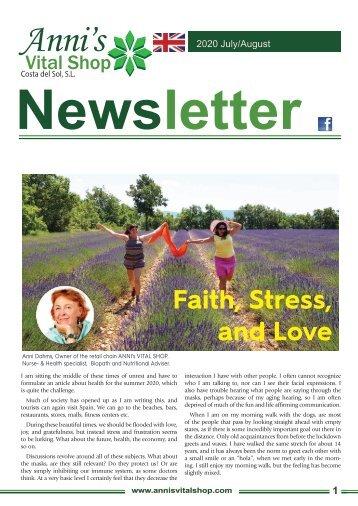 Faith, Stress, and Love