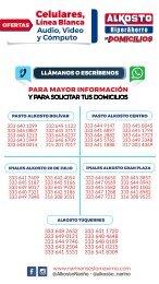 Ofertas Electrónica Alkosto Nariño - 10/07/2020
