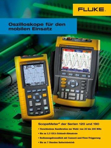 ScopeMeter® der Serie 120 - Rotec GmbH