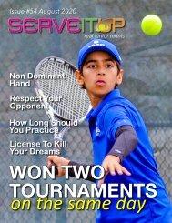 Serveitup Tennis Magazine #54