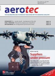 To order your free sample copy now call: +49 (0) - aerotec-online